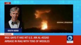 The Moment Iran Attacked Ain Al-Assad Airbase – E.  Michael Jones Reaction