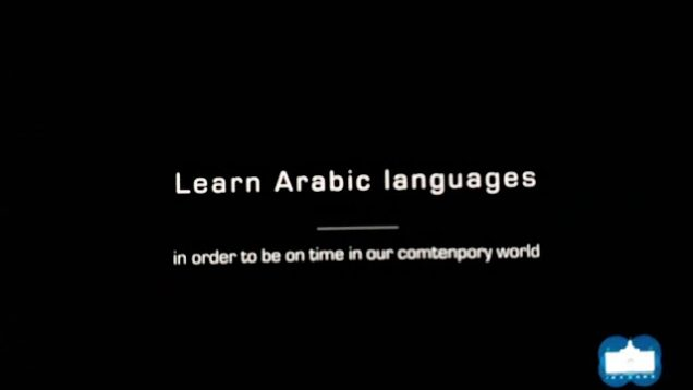 Arabic classes in the Islamic cultural centre Dublin.