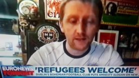 Bohemians football club want to Destroy Ireland and End DIRECT provision