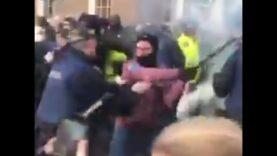 Irish Times Backs Criminal Antifa Who Attacked Police & Tried To Disrupt Peaceful #FreeSpeech Rally