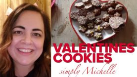 LOVING THIS: Watch Michelle's gorgeous& super-easy recipe for Valentines chocolate treats #homegrown