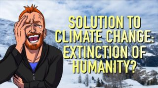 The Solution to Climate Change: Extinction of Humanity?