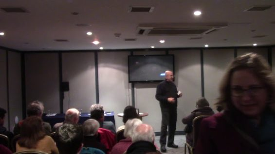 Fr  Stephen Imbarrato at the Riverside Hotel in Enniscorthy 2nd March 2020