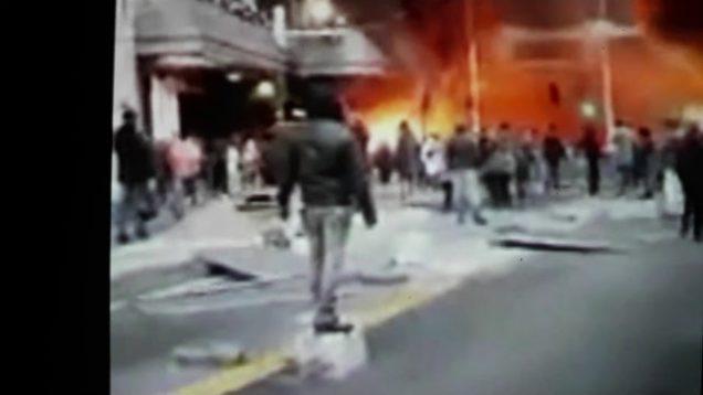 France has fallen Congolese Burn paris train station