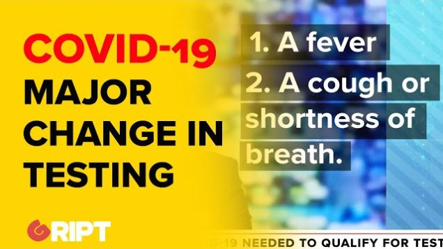 WARNING: The testing criteria for Covid-19 just changed in Ireland