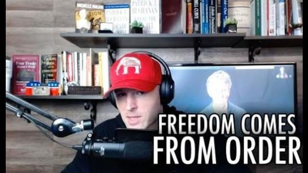 Freedom Comes From Order