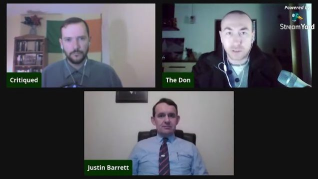 Globalism Got Us Into This Mess. Justin Barrett Gives the Nationalist Position on COVID-19 Outbreak