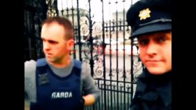Storming Leinster House