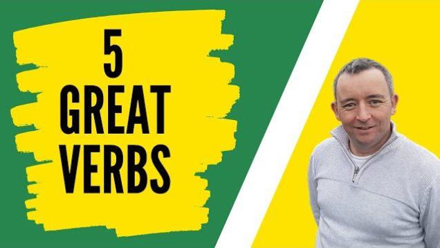 5 Best Irish Verbs That You're Not Using