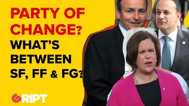 What kind of change does Sinn Féin represent?